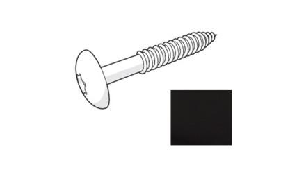 Trespa HPL Fassadenschraube - Metropolis Black 4,8 x 38mm