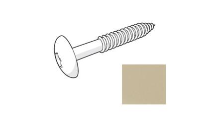 Trespa HPL Fassadenschraube - Siberian Larch 4,8 x 38mm