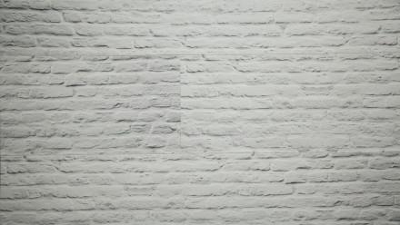planeo Wandverkleidung - Wandpaneele Weiße Steinwand - 1200 x 300 x 4 mm