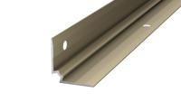 Prinz Treppenkanteninnenwinkel - 25 x 25 mm - Edelstahl matt