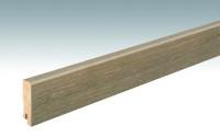 MEISTER Sockelleisten Fußleisten Eiche antik gekälkt 1260 - 2380 x 60 x 16 mm