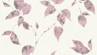 Vinyltapete rosa Modern Landhaus Blumen & Natur Flavour 875