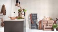 Vinyltapete rosa Modern Klassisch Uni Streifen Trendwall 852