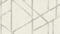 Vinyltapete Metropolitan Stories Francesca - Milano Livingwalls Modern Metallic Weiß 285