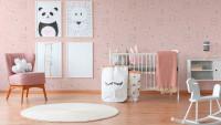 Vinyltapete Boys & Girls 6 A.S. Création Kindertapete Bilder Prinzessin Rosa Rot Weiß 912