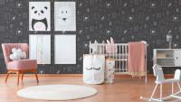 Vinyltapete Boys & Girls 6 A.S. Création Kindertapete Bilder Prinzessin Grau Metallic Rosa 913