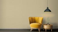 Vinyltapete gelb Modern Klassisch Uni Exotic Life 845