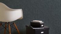 Vinyltapete grau Modern Klassisch Uni Greenery 346