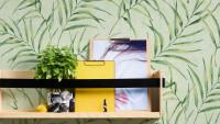 Vinyltapete grün Modern Klassisch Blumen & Natur Greenery 353