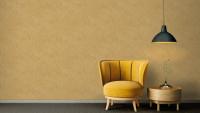 Vinyltapete gelb Modern Blumen & Natur Bilder Sumatra 711