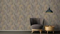 Vinyltapete grau Modern Blumen & Natur Bilder Sumatra 735