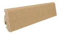 Haro Sockelleiste 19x58mm 2,2m - Eiche invisible furniert geölt