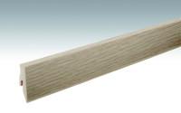 MEISTER Sockelleisten Fußleisten Risseiche hell 6258 - 2380 x 60 x 20 mm