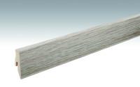 MEISTER Sockelleisten Fußleisten Eiche cappuccino 6263 - 2380 x 60 x 20 mm