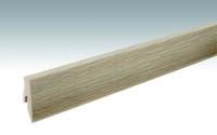 MEISTER Sockelleisten Fußleisten Eiche toffee 6275 - 2380 x 60 x 20 mm