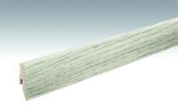 MEISTER Sockelleisten Fußleisten Eiche polar 6381 - 2380 x 60 x 20 mm
