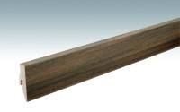 MEISTER Sockelleisten Fußleisten Nussbaum Amore 6389 - 2380 x 60 x 20 mm