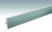 MEISTER Sockelleisten Fußleisten Eiche grau 6442 - 2380 x 60 x 20 mm