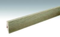MEISTER Sockelleisten Fußleisten Eiche Bridgewater 6685 | 1/2-S - 2380 x 60 x 20 mm