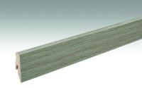 MEISTER Sockelleisten Fußleisten Bauerneiche greige 6833 - 2380 x 60 x 20 mm