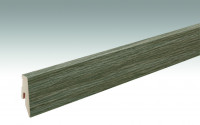 MEISTER Sockelleisten Fußleisten Farmeiche dunkel 6834 - 2380 x 60 x 20 mm