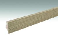 MEISTER Sockelleisten Fußleisten Eiche Savona 6852 - 2380 x 60 x 20 mm
