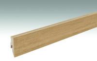 MEISTER Sockelleisten Fußleisten Eiche Nature rustikal 6865 - 2380 x 60 x 20 mm