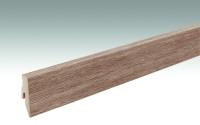 MEISTER Sockelleisten Fußleisten Eiche karamell  6953 - 2380 x 60 x 20 mm