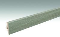 MEISTER Sockelleisten Fußleisten Wildeiche grau 6977 - 2380 x 60 x 20 mm