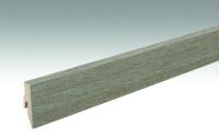 MEISTER Sockelleisten Fußleisten Altholzeiche lehmgrau 6986 - 2380 x 60 x 20 mm