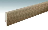 MEISTER Sockelleisten Fußleisten Eiche cognac rustikal 6256 - 2380 x 80 x 16 mm
