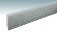 MEISTER Sockelleisten Fußleisten Eiche weißgrau 6277 - 2380 x 80 x 16 mm