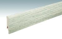 MEISTER Sockelleisten Fußleisten Eiche polar 6381 - 2380 x 80 x 16 mm