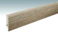 MEISTER Sockelleisten Fußleisten Eiche Dakar 6385 - 2380 x 80 x 16 mm