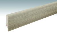 MEISTER Sockelleisten Fußleisten Risseiche Terra 6439 - 2380 x 80 x 16 mm