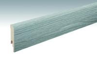 MEISTER Sockelleisten Fußleisten Eiche grau 6442 - 2380 x 80 x 16 mm