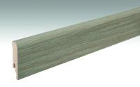 MEISTER Sockelleisten Fußleisten Bauerneiche greige 6833 - 2380 x 80 x 16 mm