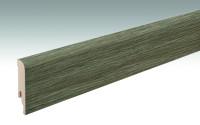 MEISTER Sockelleisten Fußleisten Farmeiche dunkel 6834 - 2380 x 80 x 16 mm
