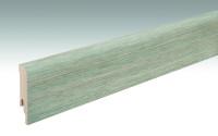 MEISTER Sockelleisten Fußleisten Fjordeiche greige 6837 - 2380 x 80 x 16 mm