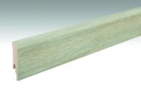 MEISTER Sockelleisten Fußleisten Eiche Nordland 6839 - 2380 x 80 x 16 mm