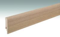MEISTER Sockelleisten Fußleisten Feldeiche hell 6843 - 2380 x 80 x 16 mm
