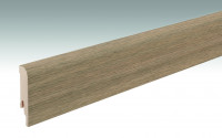 MEISTER Sockelleisten Fußleisten Feldeiche Nature 6844 - 2380 x 80 x 16 mm