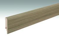 MEISTER Sockelleisten Fußleisten Vintage walnut 6845 - 2380 x 80 x 16 mm