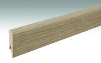 MEISTER Sockelleisten Fußleisten Multiwood 6849 - 2380 x 80 x 16 mm