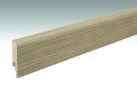 MEISTER Sockelleisten Fußleisten Eiche Savona 6852 - 2380 x 80 x 16 mm