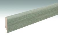 MEISTER Sockelleisten Fußleisten Wildeiche grau 6977 - 2380 x 80 x 16 mm