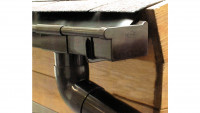 Kunststoff-Dachkastenrinne 201Ax Braun