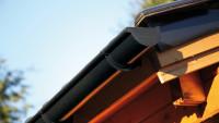 Kunststoff-Dachrinne 402Ax 400 bis 450cm anthrazit