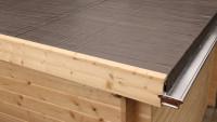 Alu-Dachkastenrinne 400 cm 1 FR