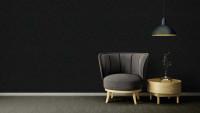 Vinyltapete Strukturtapete schwarz Modern Uni Versace 3 824